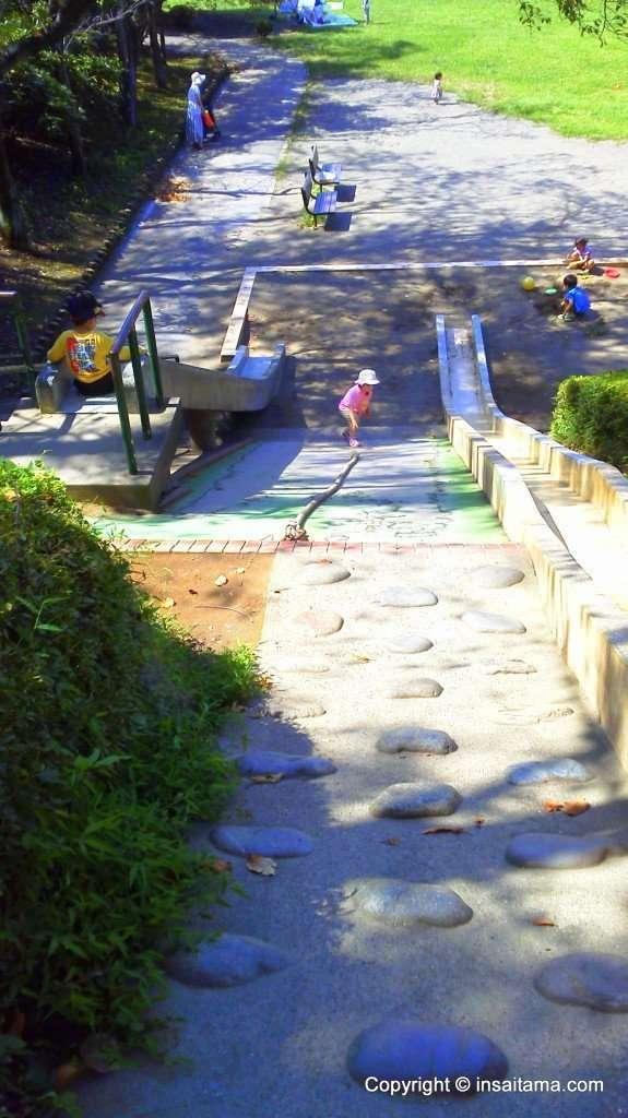 Cement Climbing wall, Maruyama Park, Saitama Prefecture