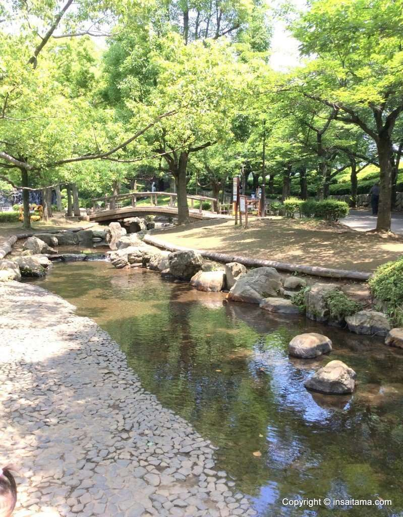 Wading river maruyama park
