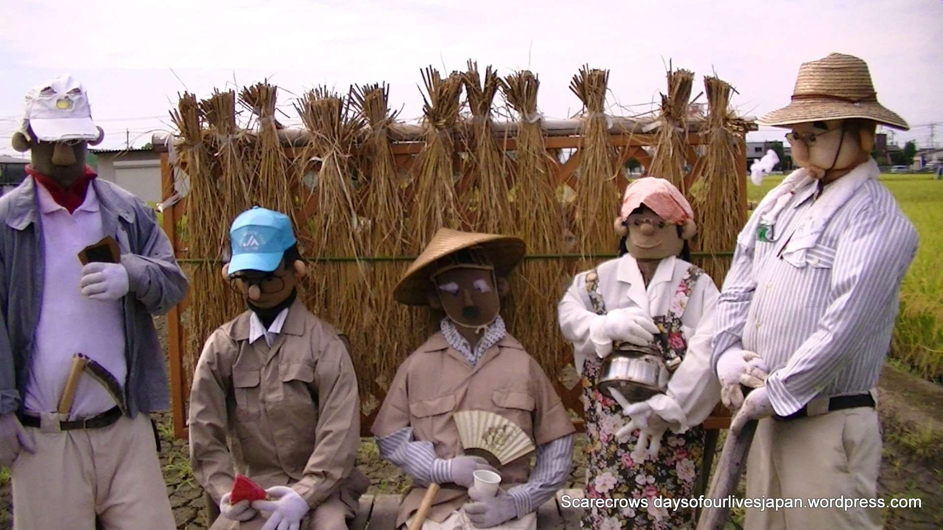 scarecrows in Japan