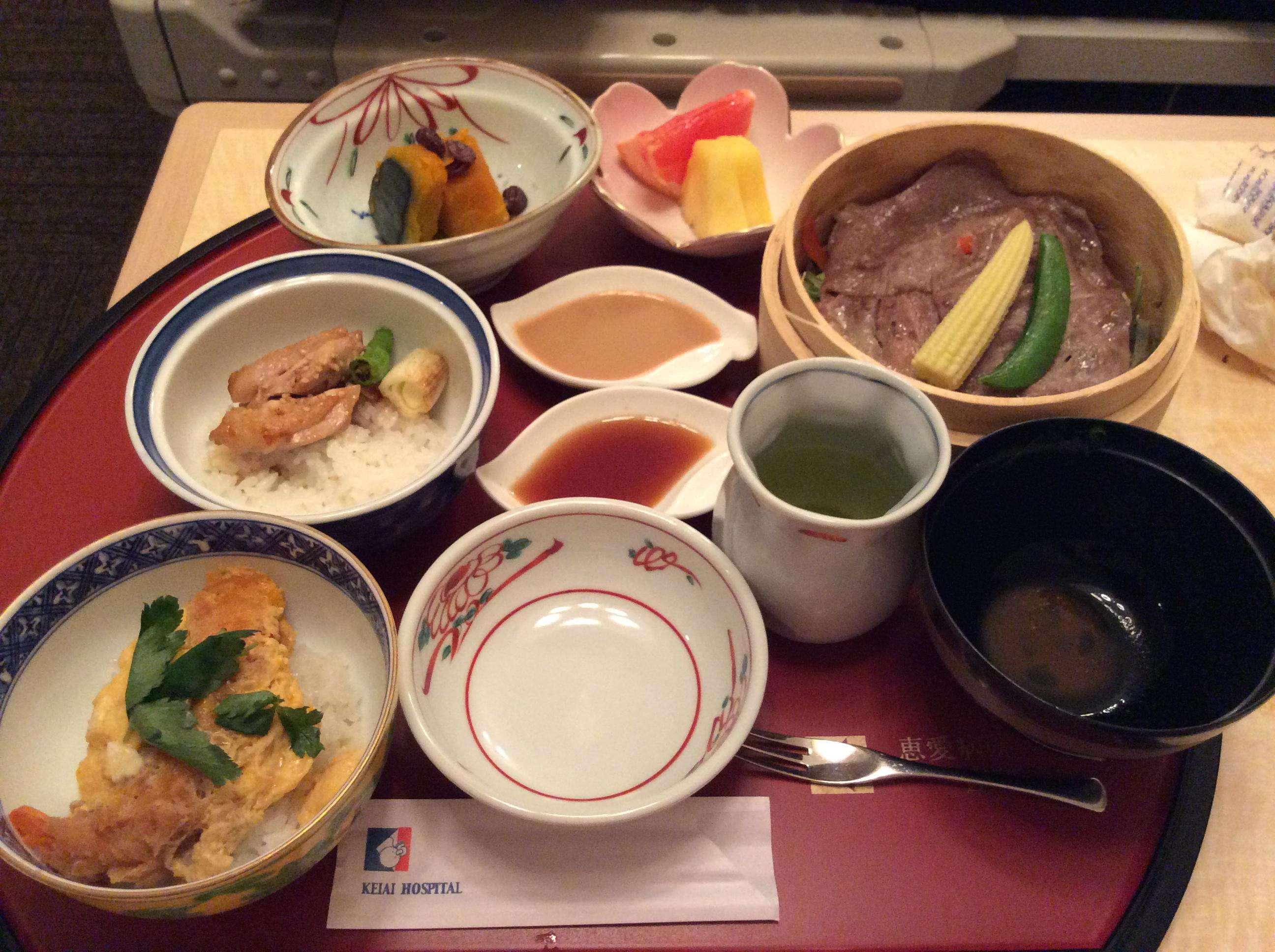 Dinner in room day 0