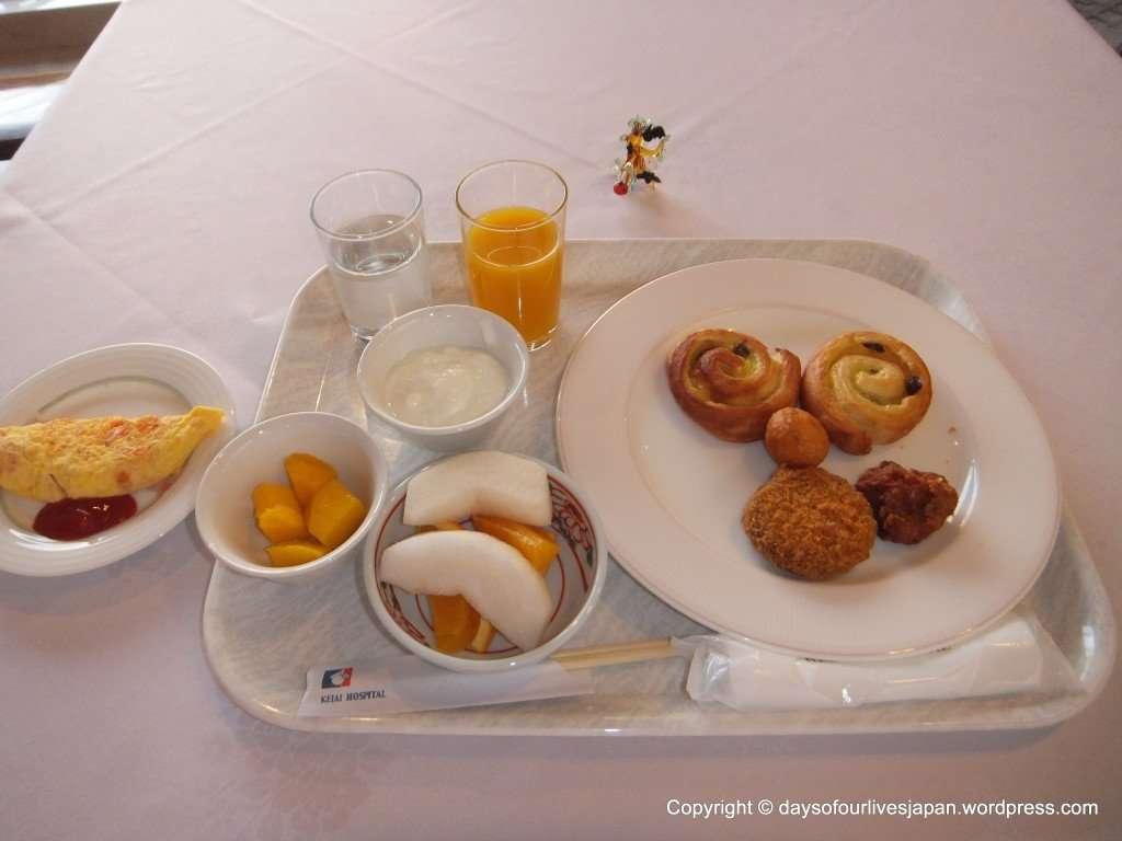 Buffet breakfast day 3