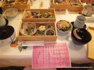 Dinner (3) at a maternity hotel in Saitama, Japan