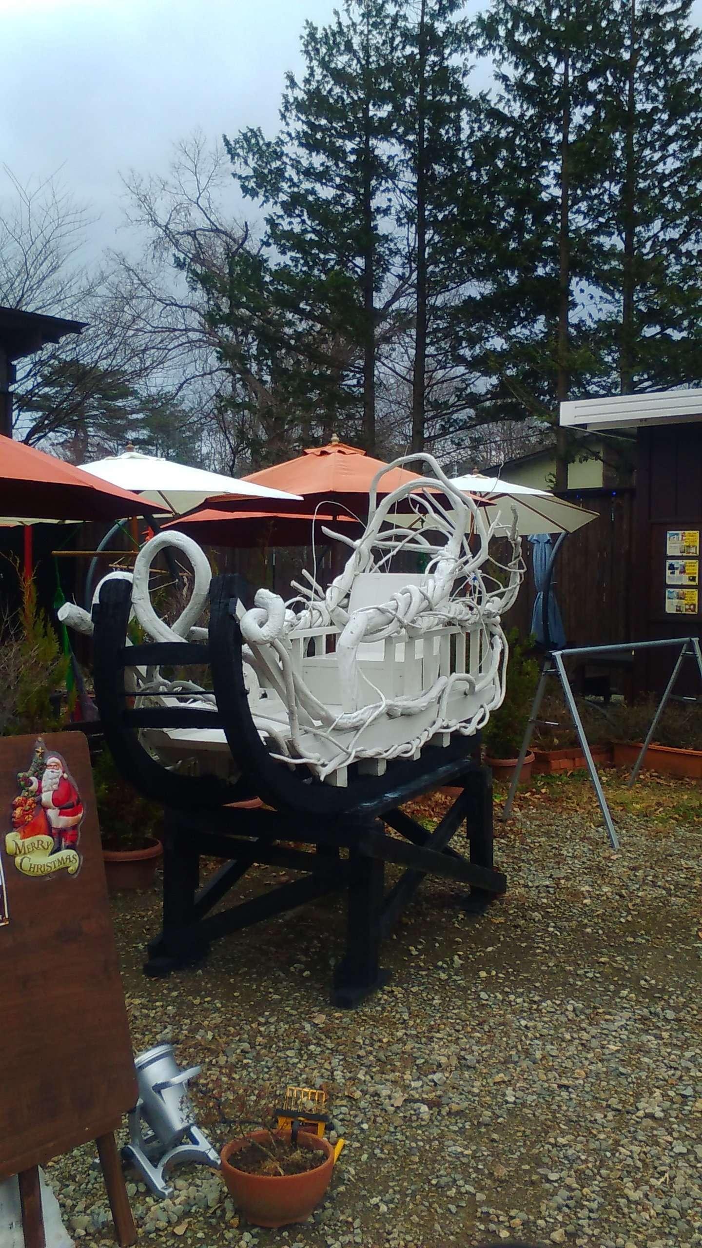 Santa's sleigh Tochigi finland no mori Santastic