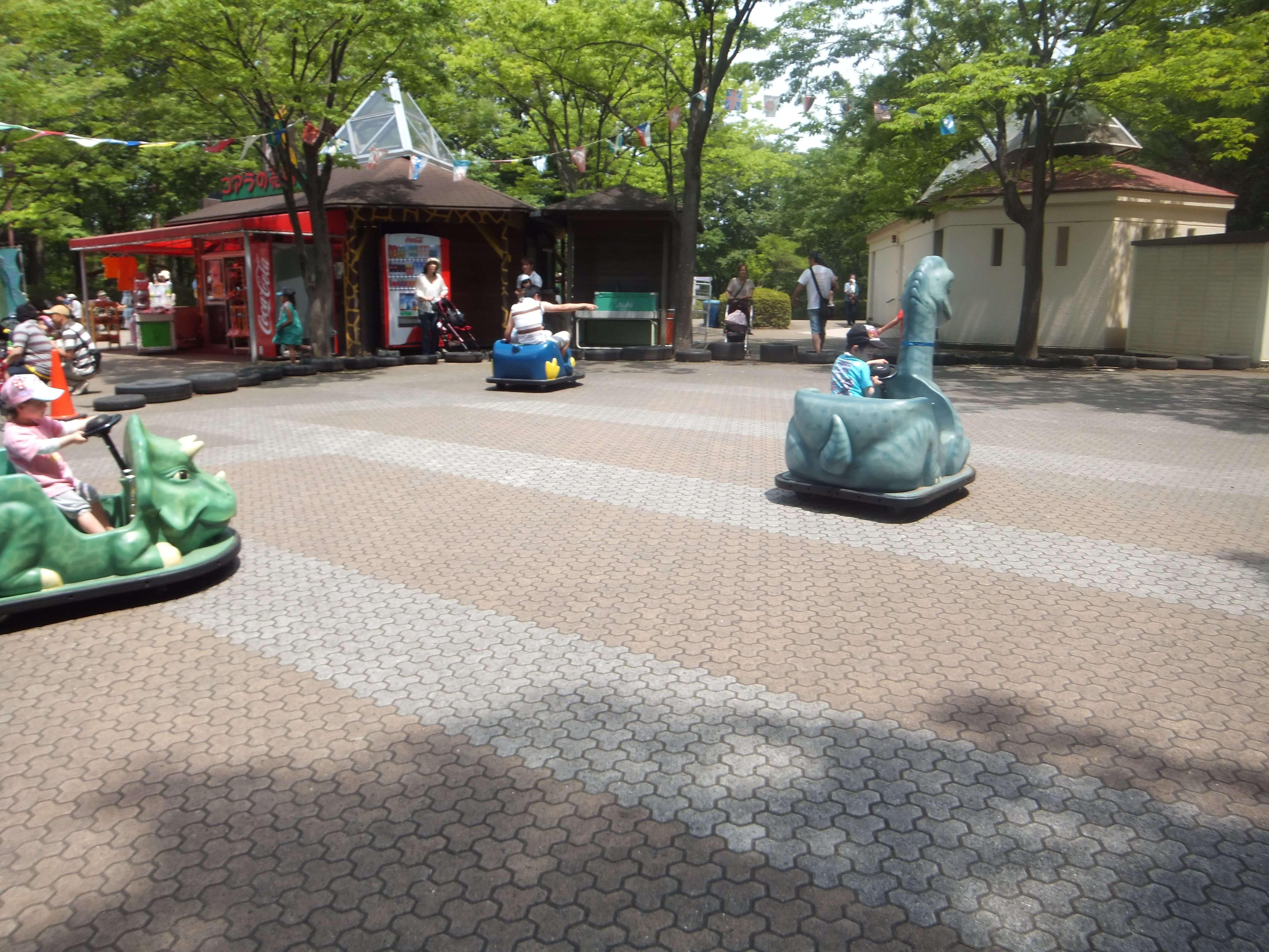 Battery Cars at Saitama Childrens zoo