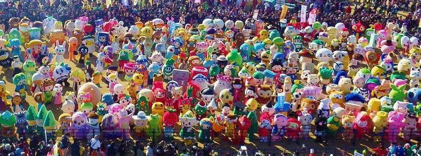 Yuruchara mascot summit mascot festival