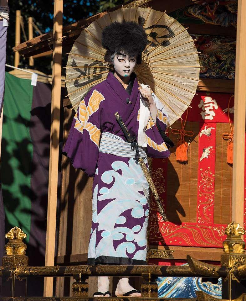 Oneri actor. ©John Becker Chichibu Night Festival