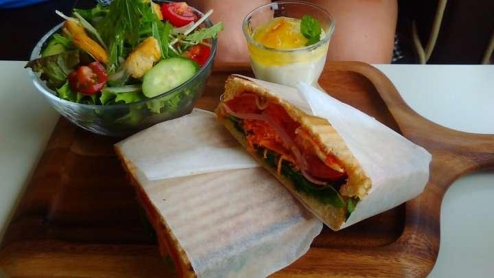 Lunch at Chocotea