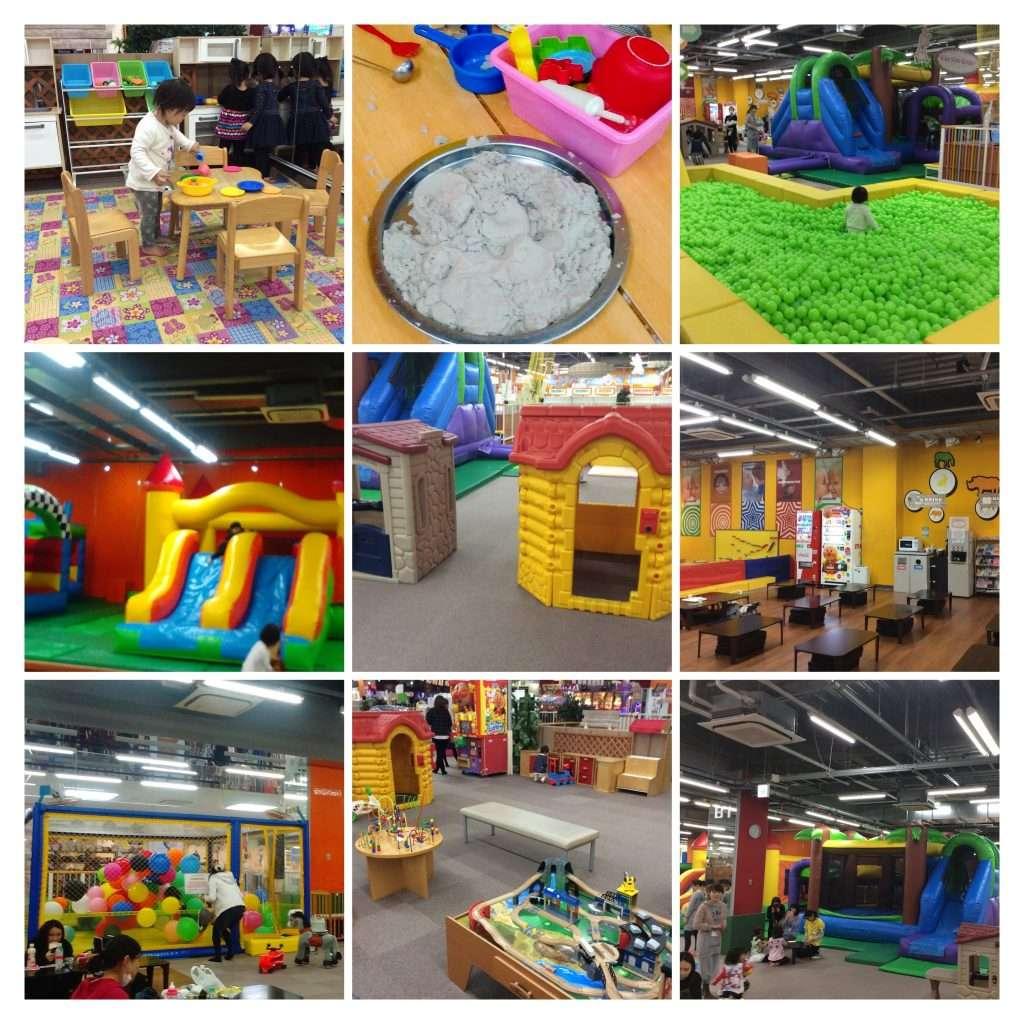 Niko Niko Garden children's play center in Value Plaza Ageo, Saitama Prefecture