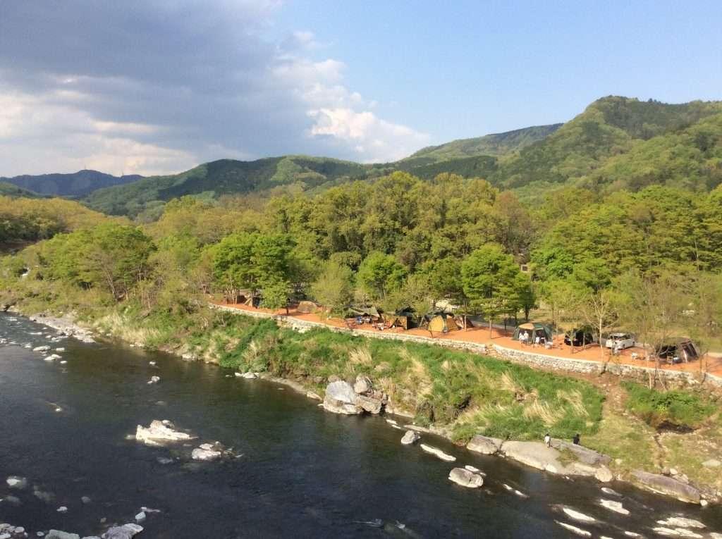 Nagatoro Autocamp summer in Saitama 2020