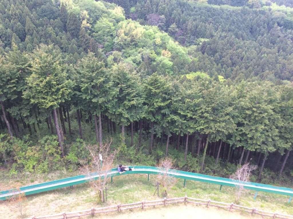 Saitama's longest roller slide in Saitama Prefecture just north of Tokyo