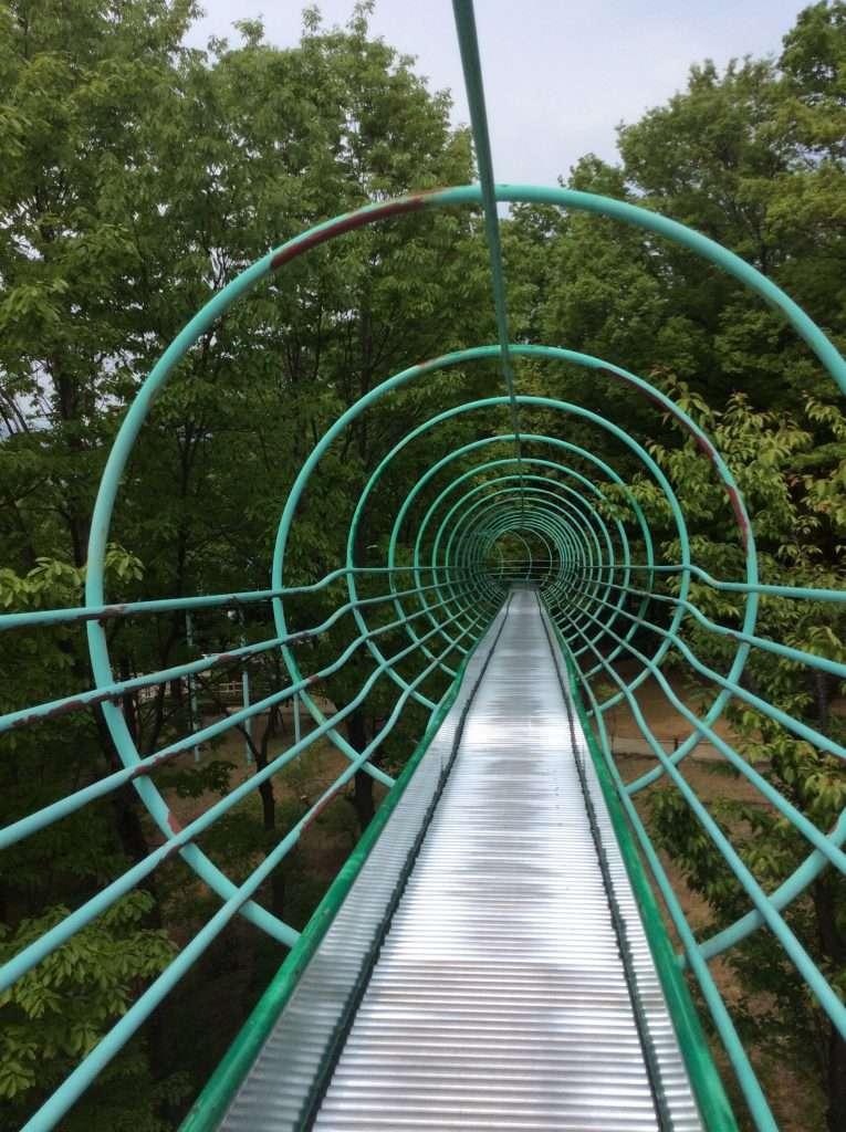 Saitama's longest roller slide in ogawa