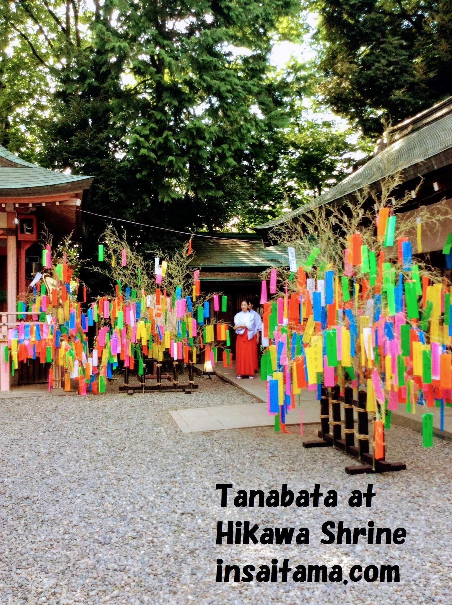 Tanabata Festival Kawagoe Hikawa Shrine