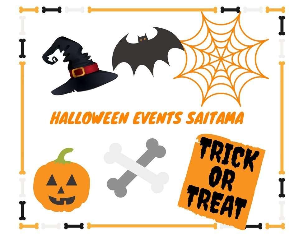 Halloween Kawagoe and halloween events saitama and Halloween seibuen