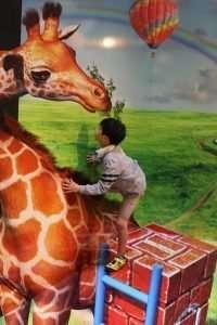 Trick art exhibition Sayama Municipal Museum