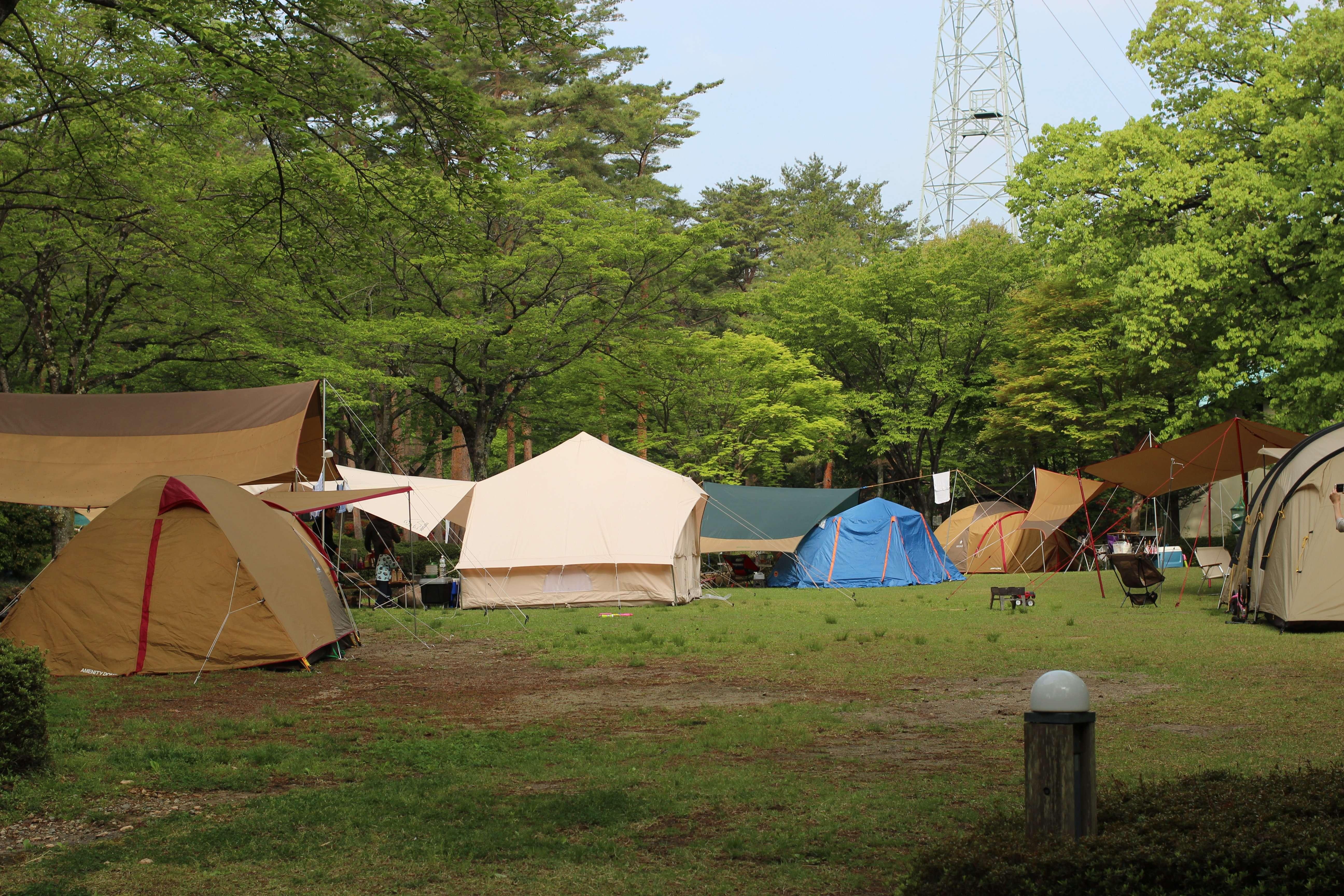 Free site at Nasunogahara