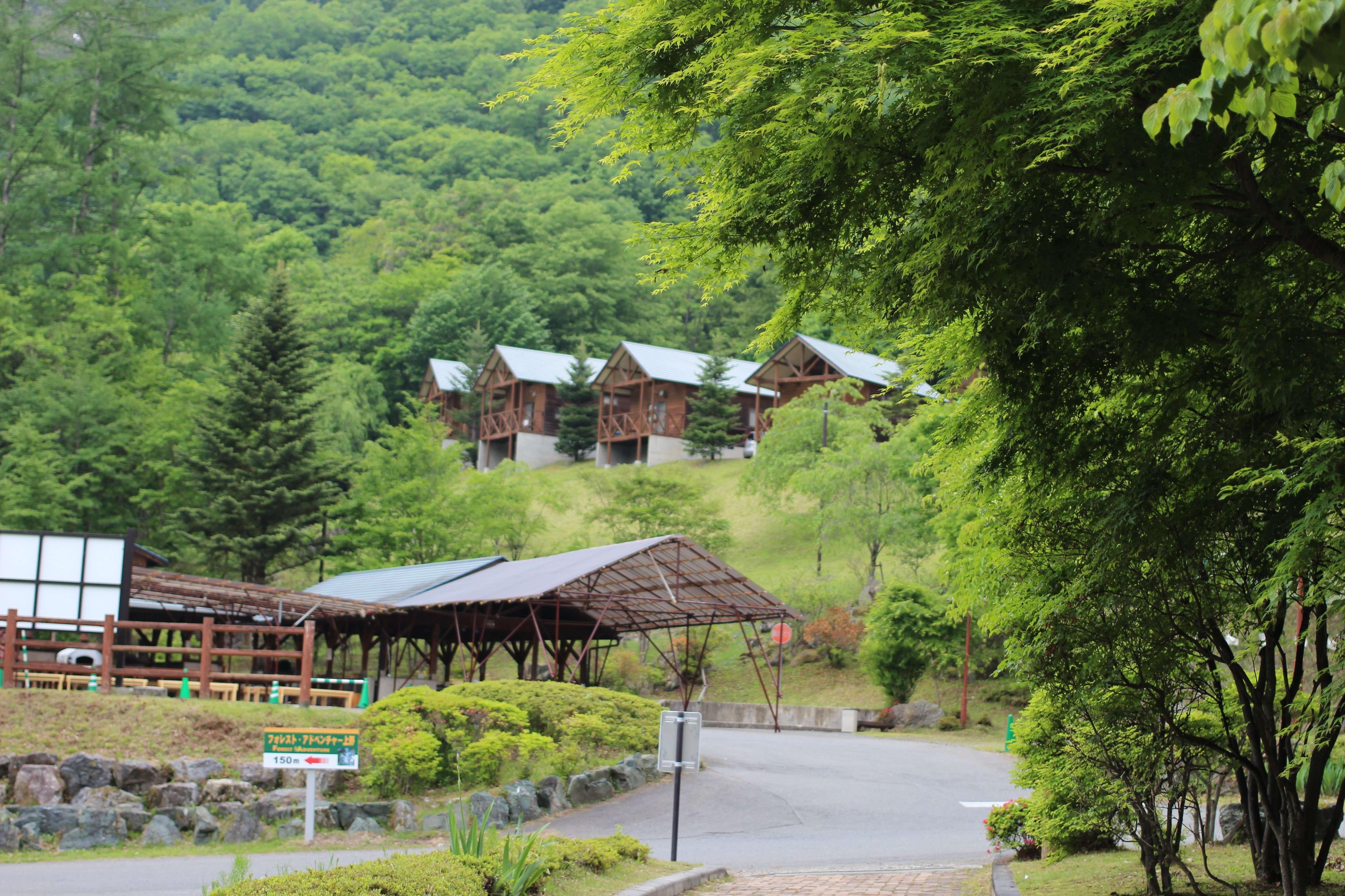 Cabins at mahoba no mori, Ueno Village, Tano District, Gunma