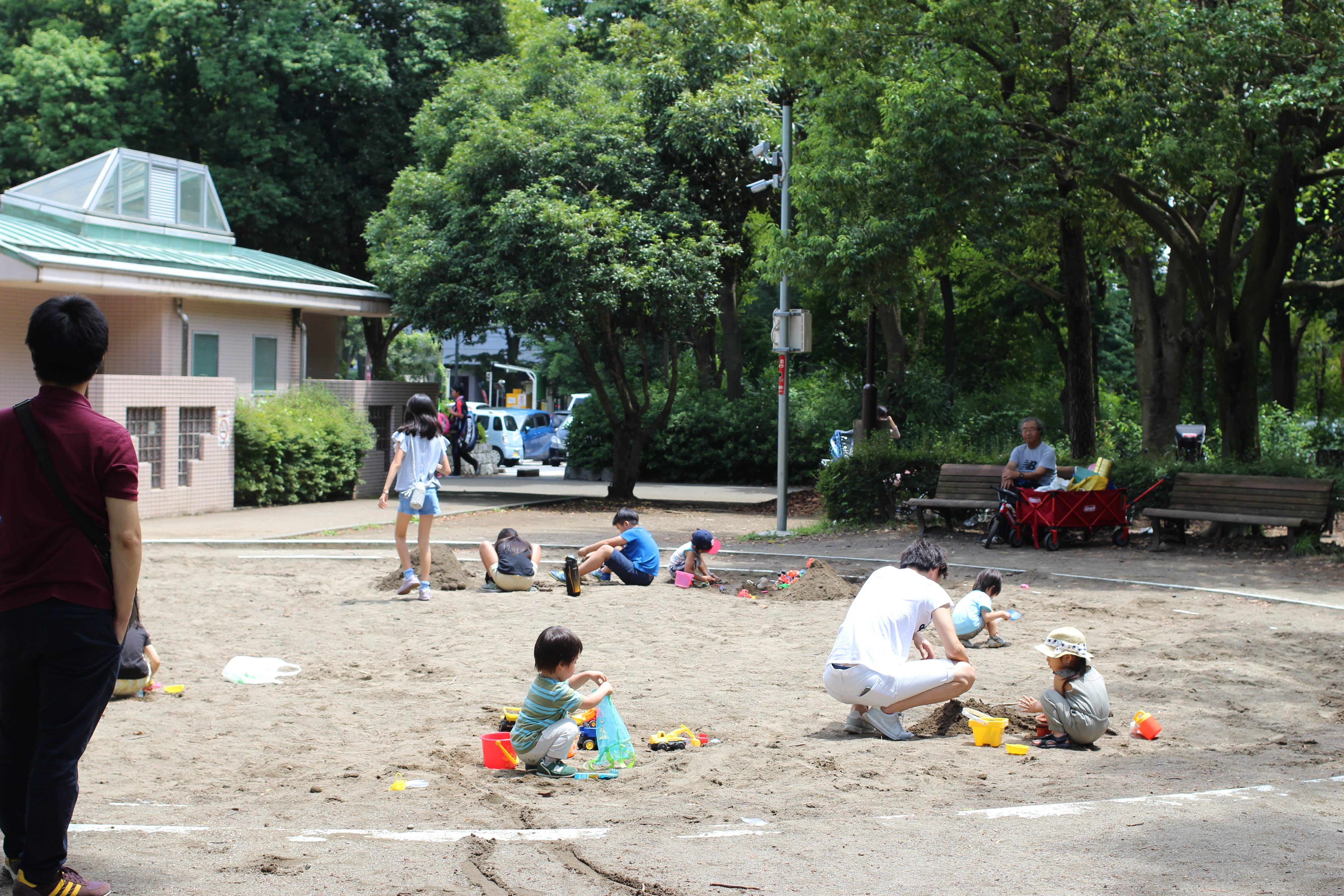 Tokorozawa Aviation Memorial Park sand pit
