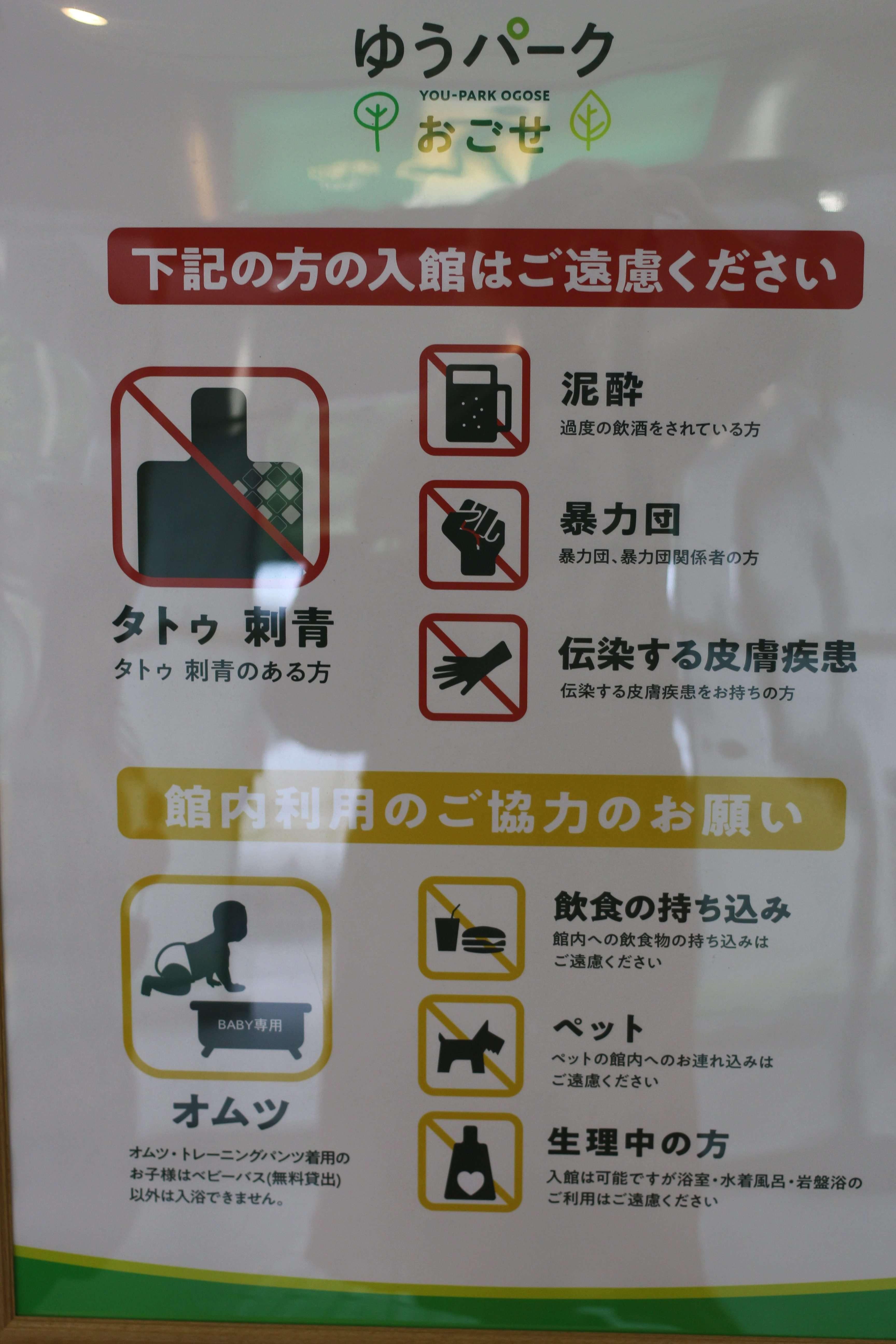 You Park Ogose bath conditions