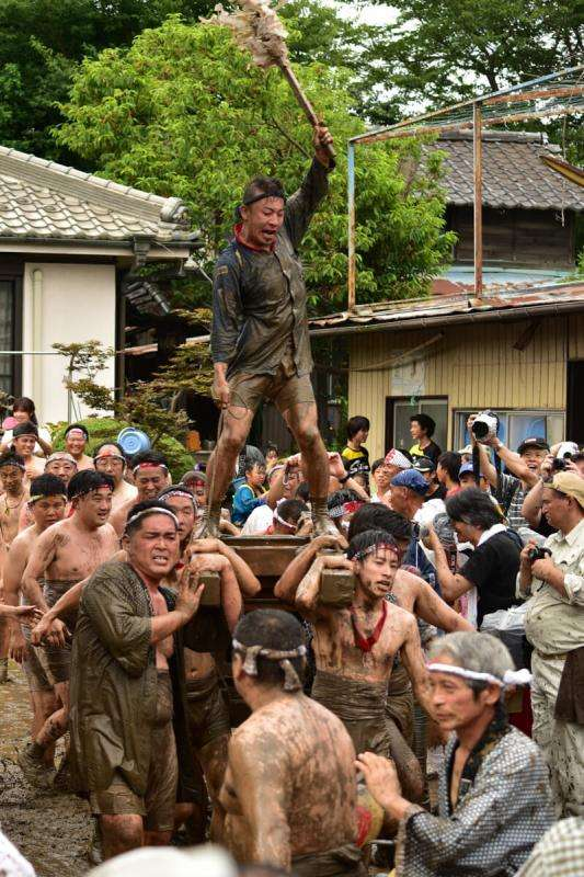 ageo doro inkyo mud festival