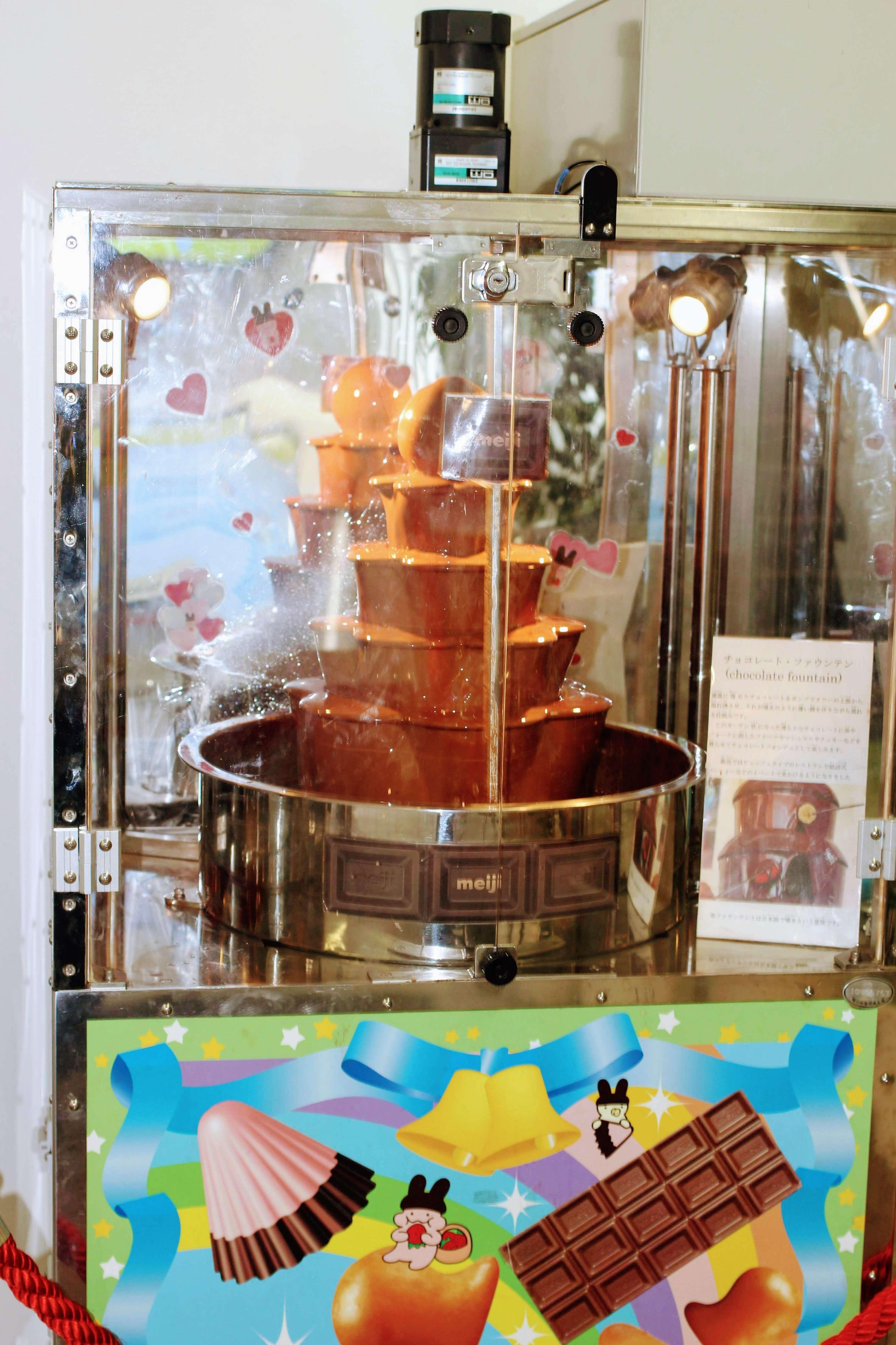 Meiji Chocolate fountain