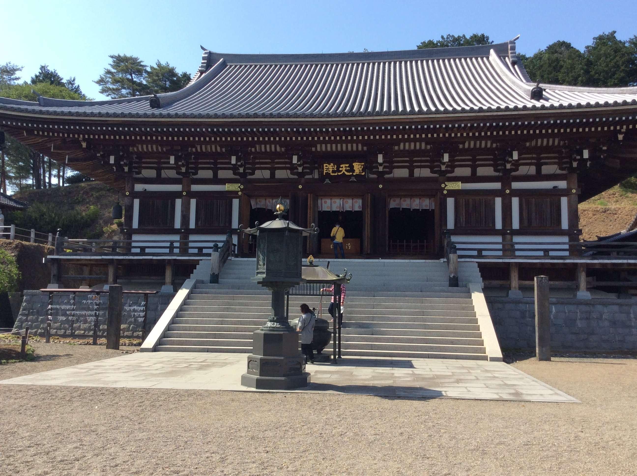 shodenin aka shotenin temple in hidaka