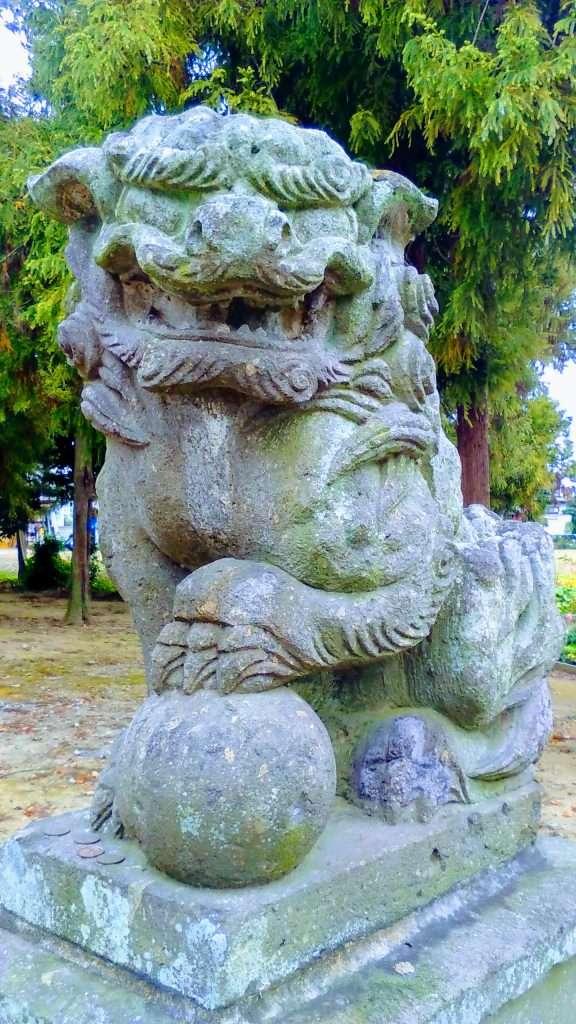 Lion dog shishi Komainu