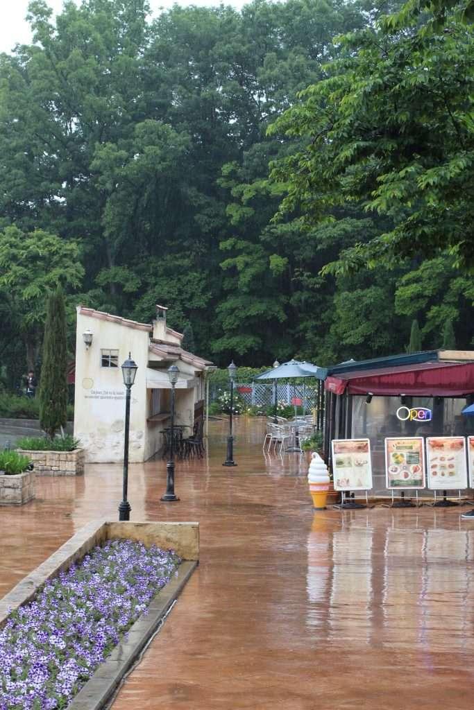 Yorii Little Prince Star parking area