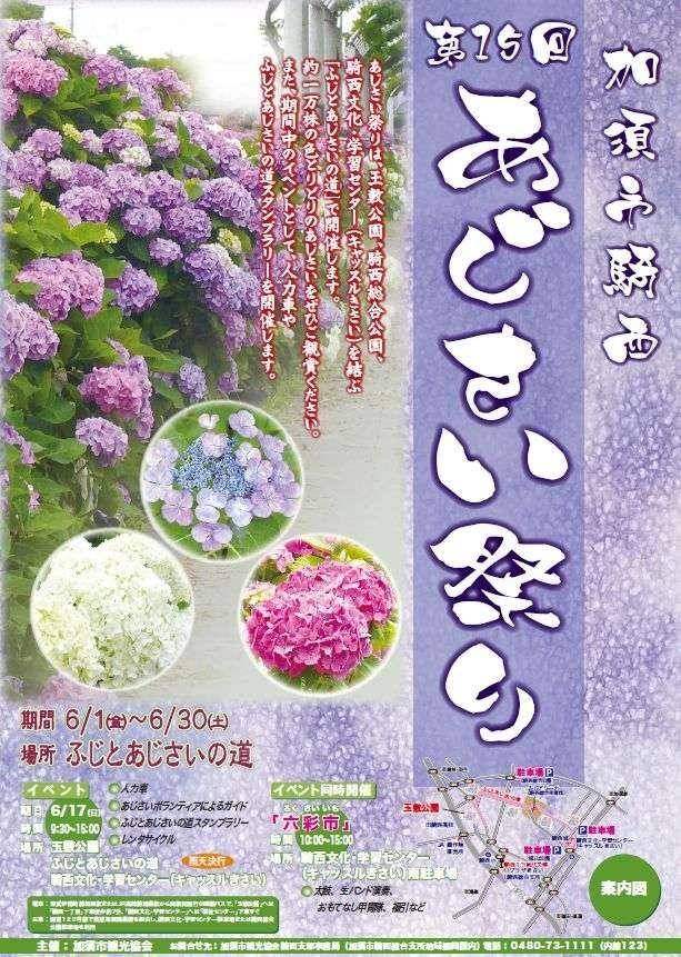 kisai hydrangea festival