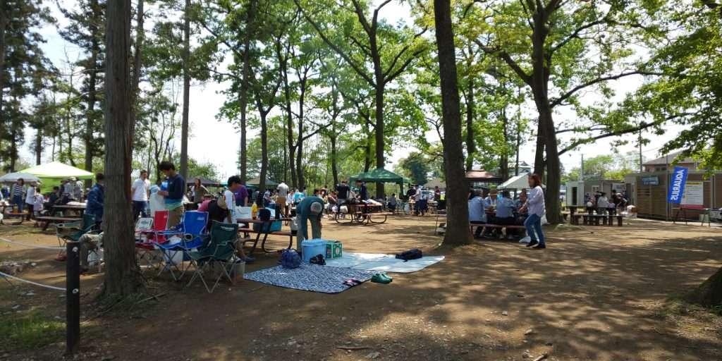 Kurakake reserved area barbecue site