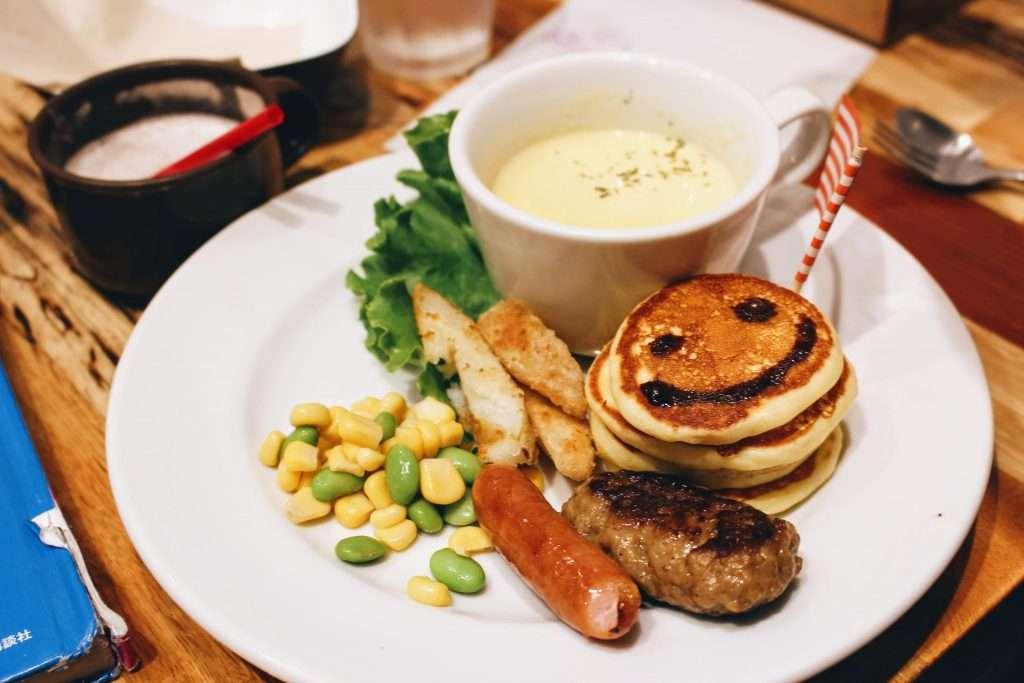 J.S Pancake kids meal