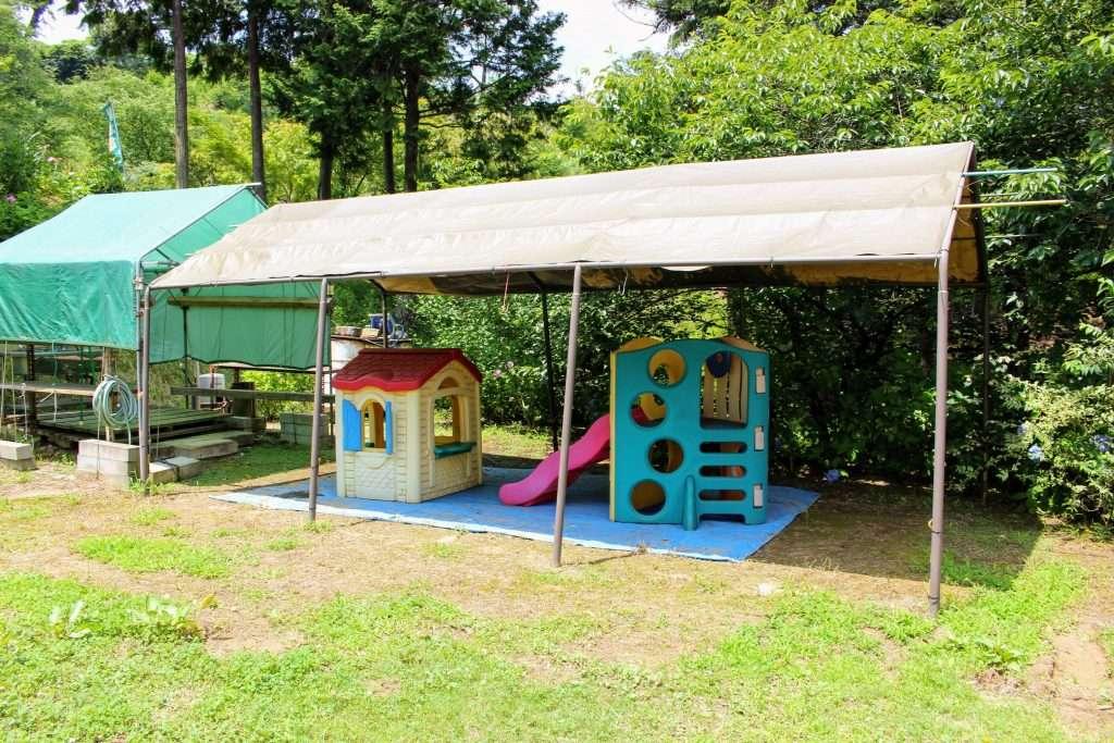 Play area at Kinsenji Temple Ranzan Saitama insaitama.com
