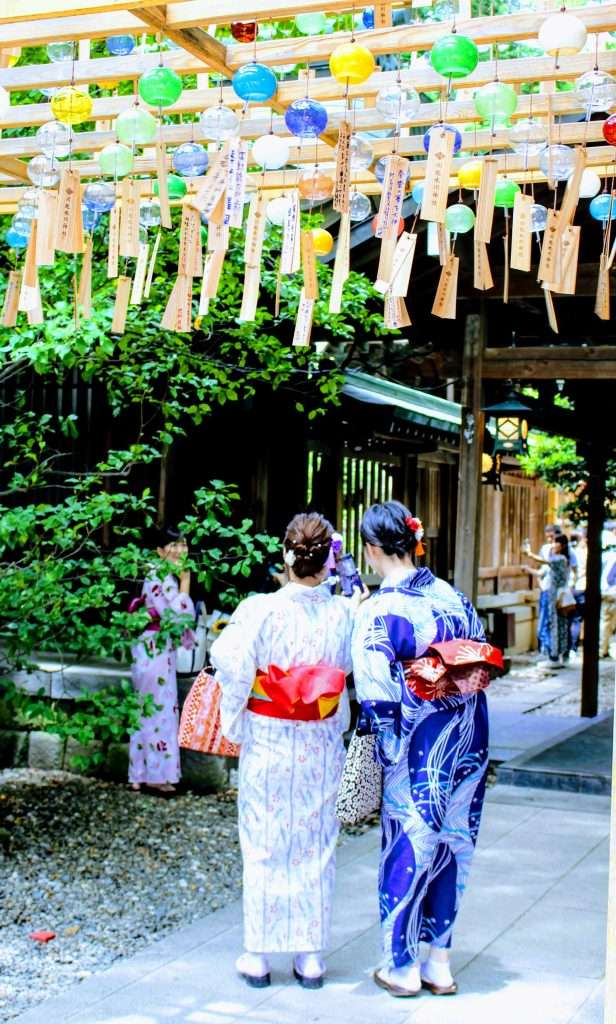 2019 wind chimes Kawagoe Hikawa Shrine insaitama.com