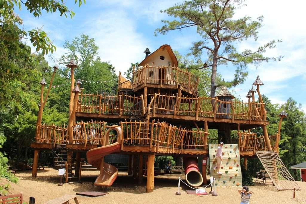 Hemulin's playground Moomin Valley Park Metsa Hanno Saitama