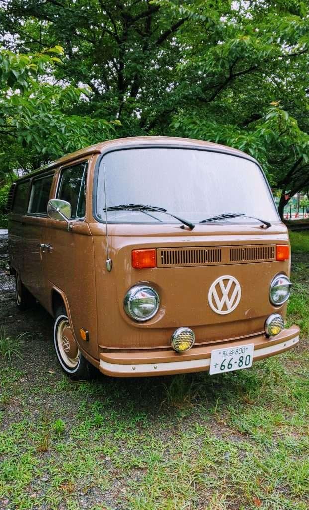 Volkswagen VW van at Comoriver Tokigawa