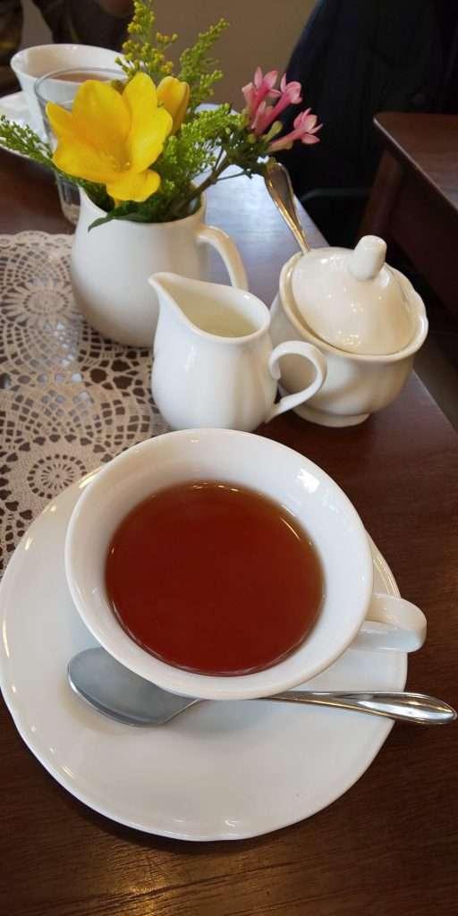 Herbal Tea at Tea Berry Kawagoe