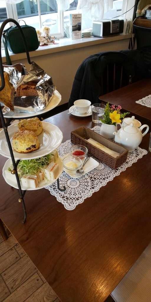Afternoon tea at Tea Berry Kawagoe