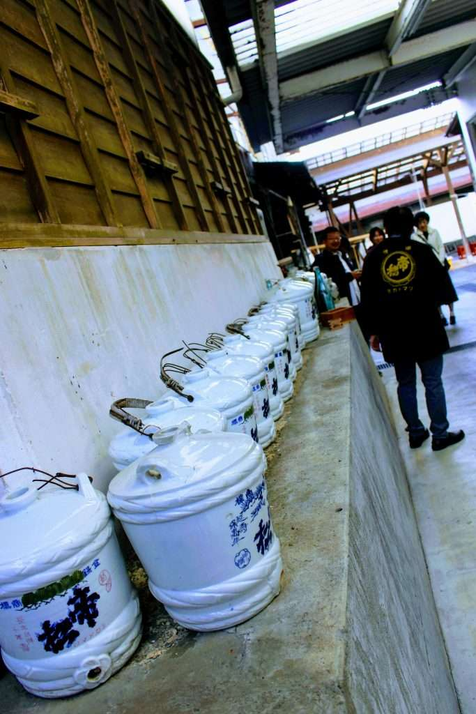 Tourist Brewery Japan
