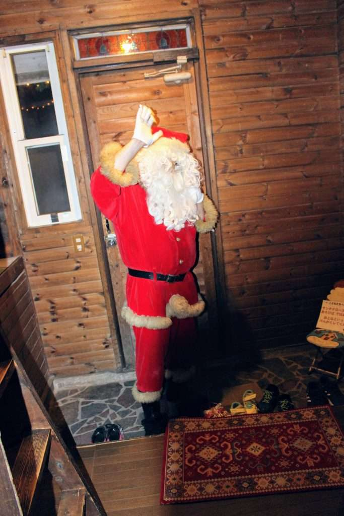 Santa visit at Santa House