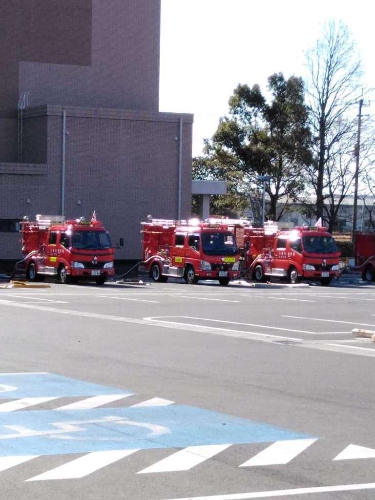 Kawagoe District Fire Engines