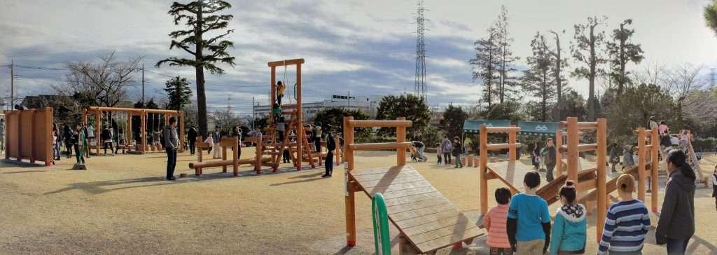 Saiboku no Mori new playground hidaka city