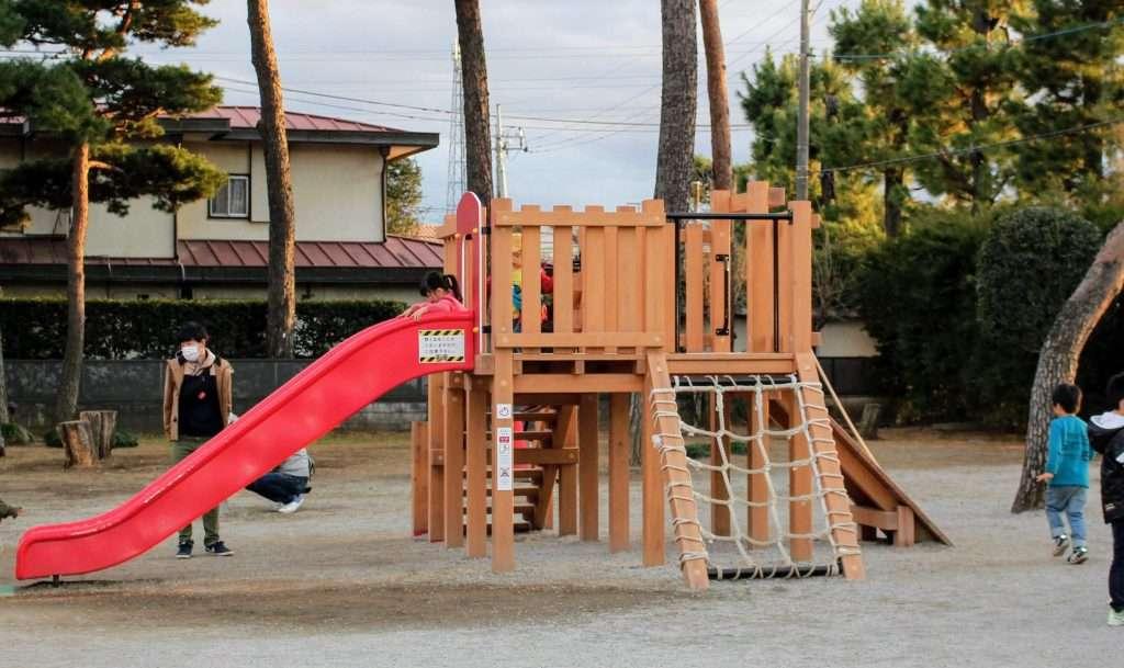 Free playground at Saiboku