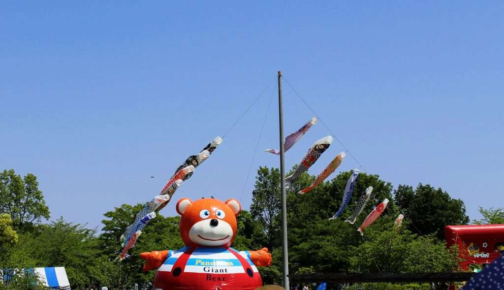 Kodomo no hi flying carp and bouncing castle children's day japan children's day crafts