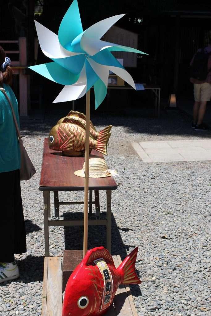 Pinwheels Kawagoe Hikawa Shrine