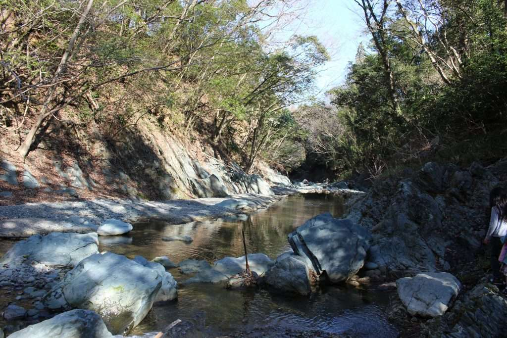 Nature spot tokigawa Sanba Gorge Sanba Ravine