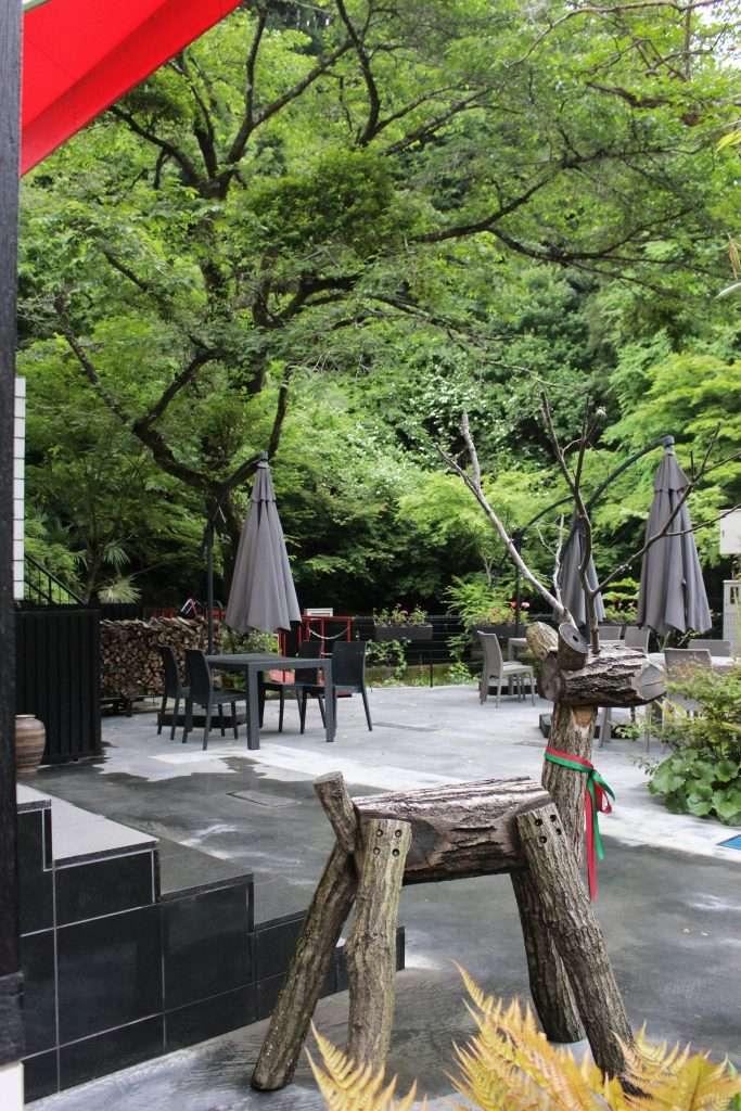 St Gallen restaurant where the Kuroyama Kosenkan used to be Ogose