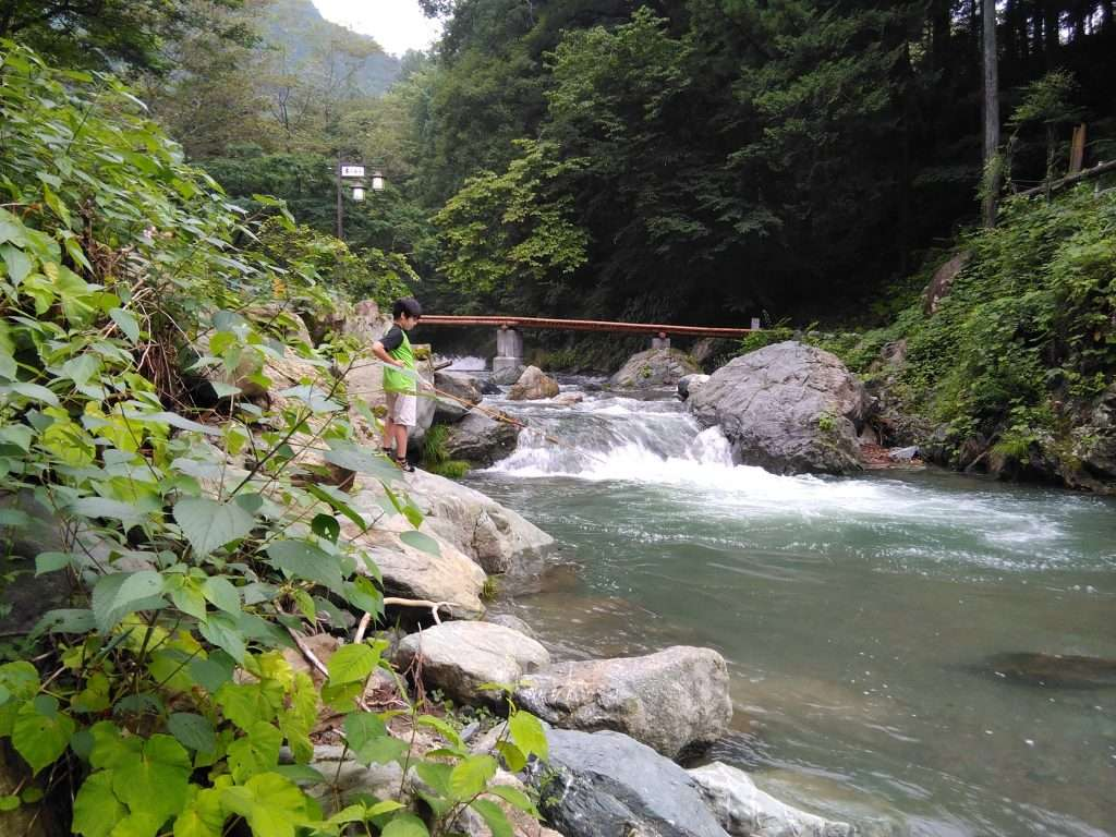 Toki river Kinomura Camp Tokigawa