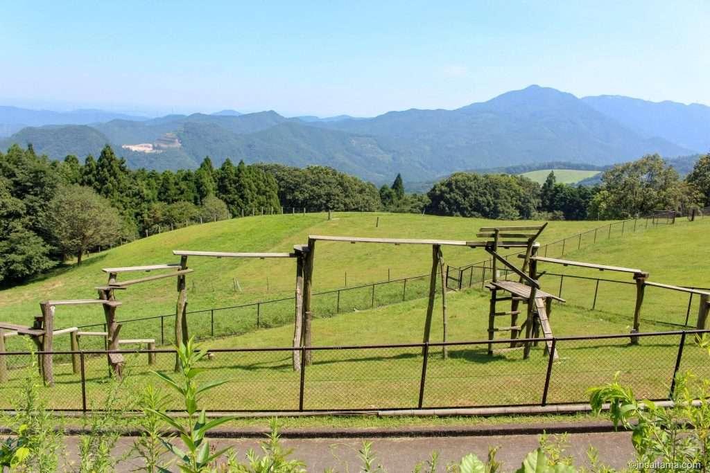 Playground at Sai no Kuni Fureai Farm Chichibu Highland Ranch
