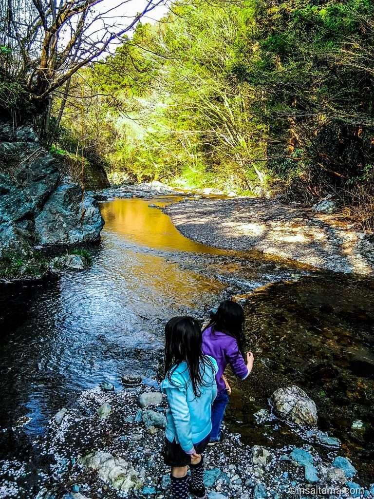 Off the beaten path river play at Daima Noson Hiroba Ogose