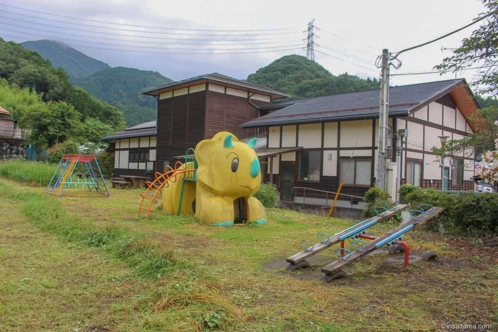 Playground at Arakawa Roadside Station