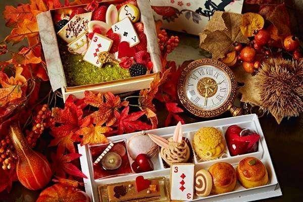 Take out Alices tea party Halloween afternoon tea saitama city omiya shikitei